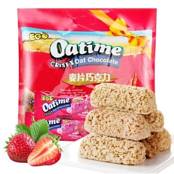 马来西亚进口 EGO 燕麦巧克力 休闲零食大礼包 婚庆喜糖果饼干 草莓味468g